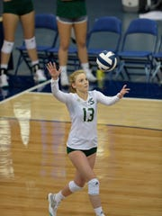 Brigitte Murdock, and the Sacramento State Hornets, face Nevada in volleyball on Thursday night at the Virginia Street Gym.