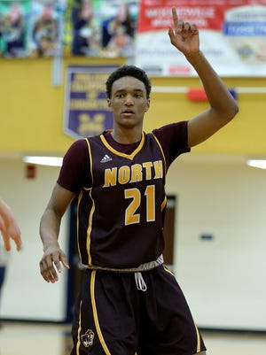 Bloomington North's Musa Jallow has caught the eye of college coaches.
