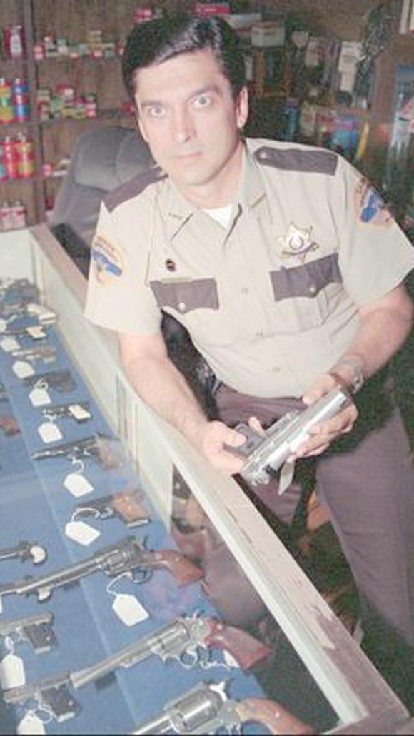 Then-Sheriff Richard Mack in 1994.
