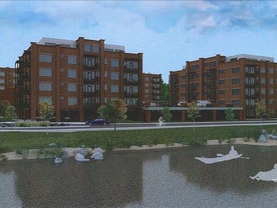 The Stoneyard Apartments are proposed for 175 Lyman