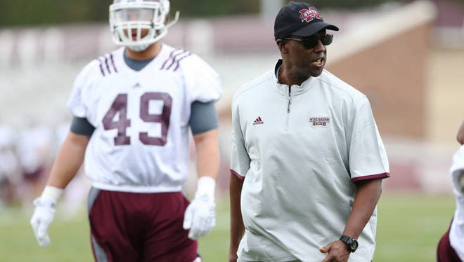 Mississippi State coach Brian Baker returned to the college ranks after 19 years in the NFL.