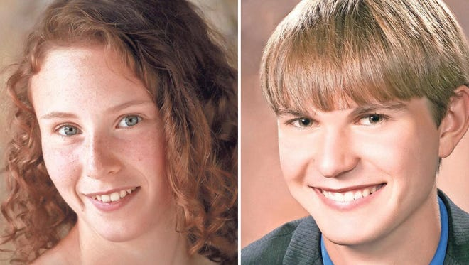 Emma Stonesmyth and Jackson Traas of Appleton East High School are this week's top scholars.