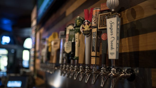 Local Cue offers 25 beers on tap, in addition to a full bar program.