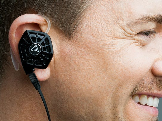 The Audeze iSine 10 uses planar magnetic technology