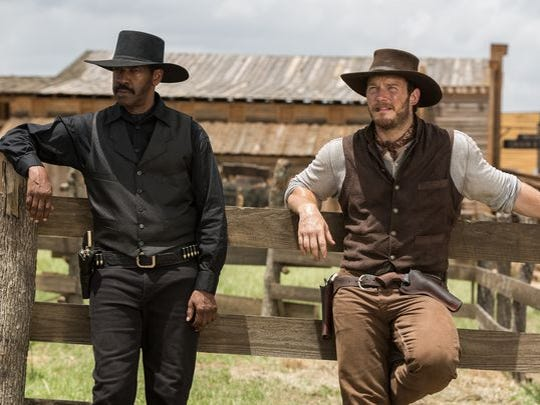 Denzel Washington and Chris Pratt co-star in Antoine Fuqua's remake of 'The Magnificent Seven.'
