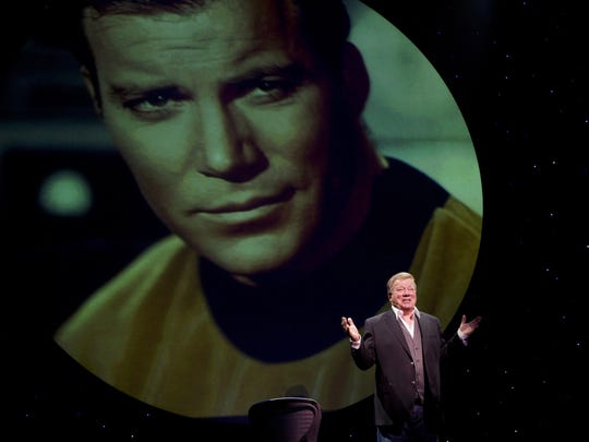 "William Shatner  performs his one-man show, ""Shatner's"