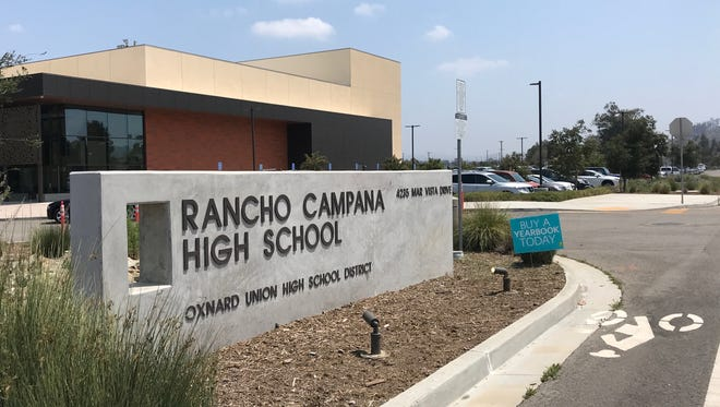Rancho Campana High School in Camarillo.