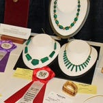 John Franklin's craftsmanship received five ribbons during the Northeastern Woodworkers Association exposition held in Saratoga Springs in March.