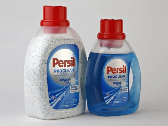Henkel company's new entry in the U.S. laundry detergent market, Persil, in Phoenix on Nov. 18, 2015.
