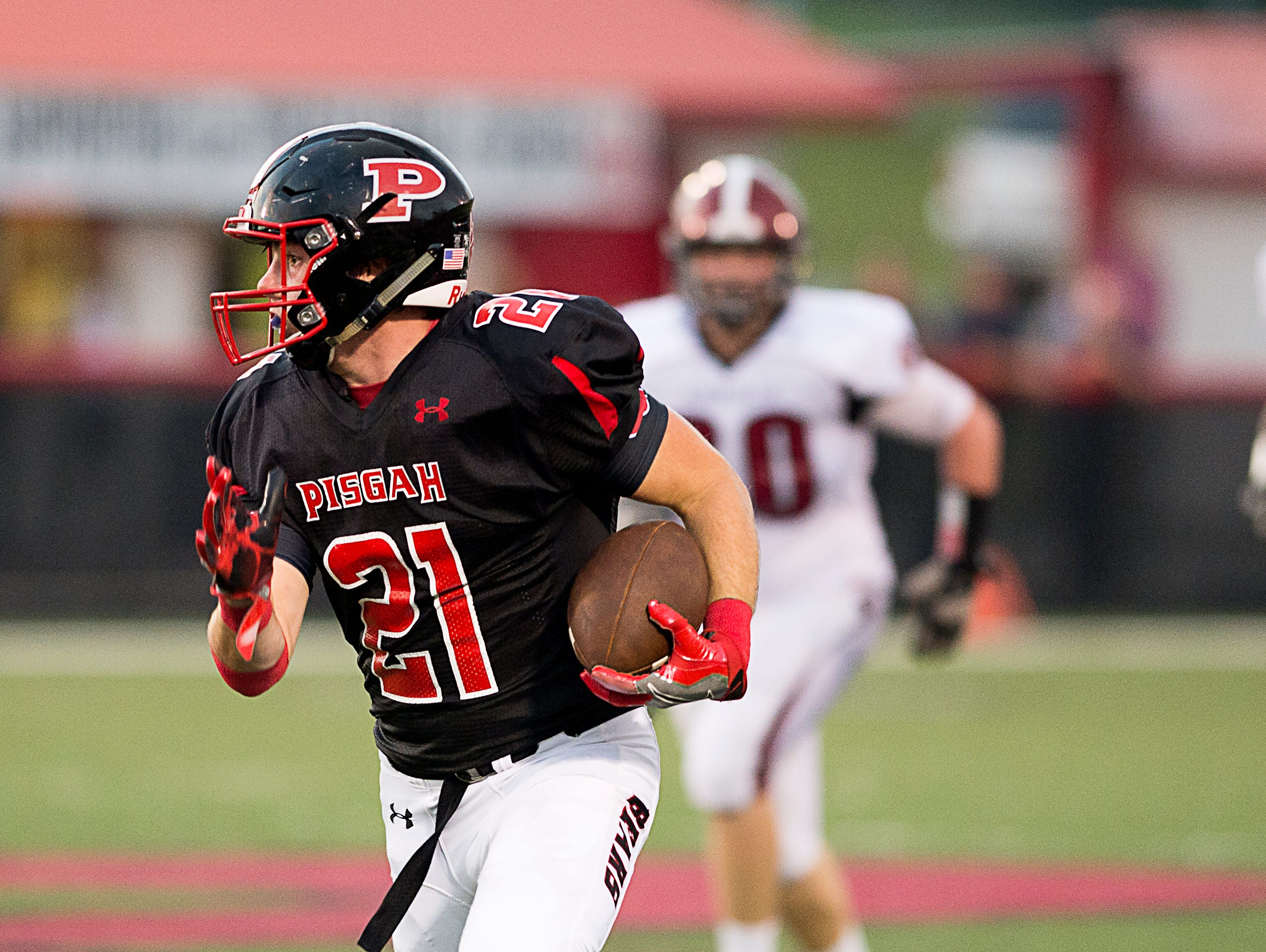 The Pisgah Black Bears defeated the Asheville Cougars 17-14 Thursday evening Sept. 1 in Haywood County.