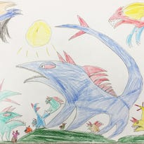 Sam Fidler, grade two, Pawling Elementary School