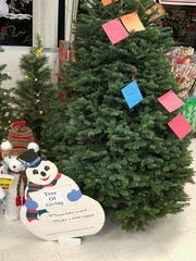Silverton's Tree of Giving collects clothing and toys for local families.