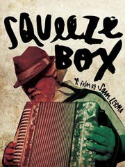 """Film poster for """"Squeeze Box,"""" one of the short films"""