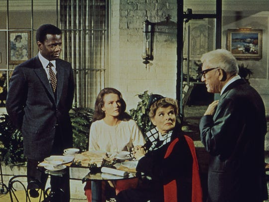 """""""Guess Who's Coming to Dinner,"""" starring Sidney Poitier, Spencer Tracy and Katharine Hepburn, is a 1967 film about challenging attitudes. See it Feb. 3 at the Historic Elsinore Theatre."""