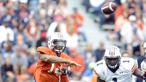 Nick Marshall threw for 236 yards and four touchdowns on A-Day.