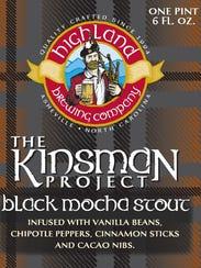 Highland Brewing has released Kinsman Black Mocha Stout