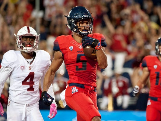 NCAA Football: Stanford at Arizona