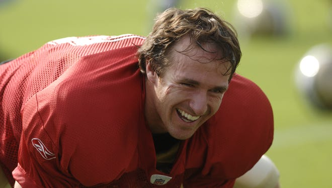 Quarterback Drew Brees likes what he sees so far from several newcomers in Saints' camp.