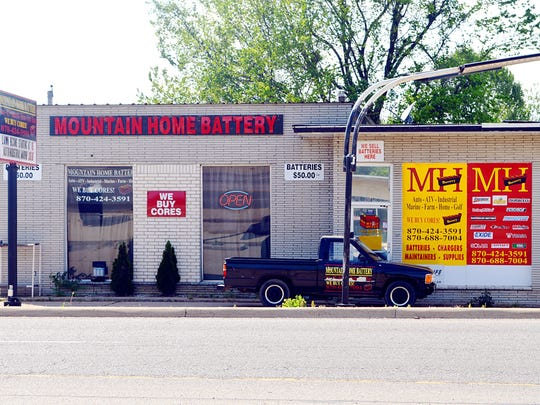 Mountain Home Battery, next to the Baxter County Sheriff's Office on U.S. Highway 62, recycles all types of batteries, and buys battery cores.