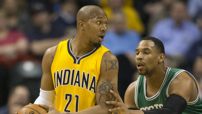 David West decided not to exercise his player option for the 2015-16 season.