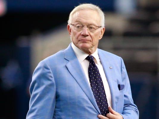 Jerry Jones accused of sexual assault in lawsuit