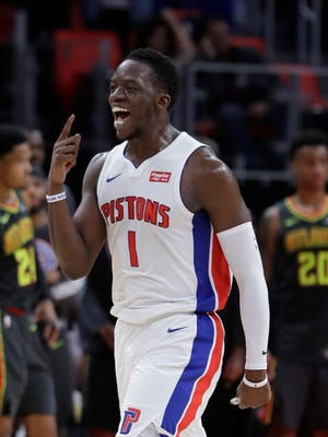 Pistons guard Reggie Jackson has missed 37 straight games with an ankle injury.