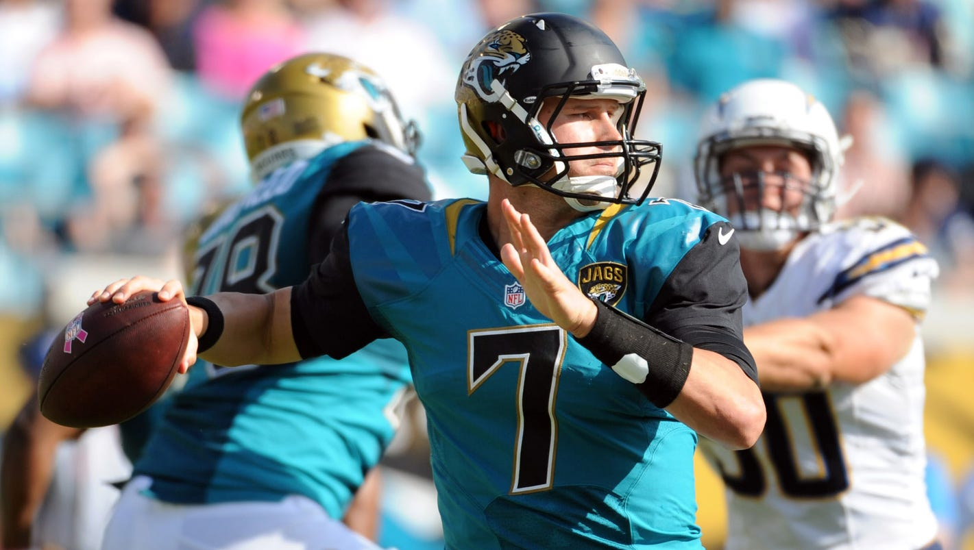 Nfl Notes Jaguars Sticking With Chad Henne Giants Baas