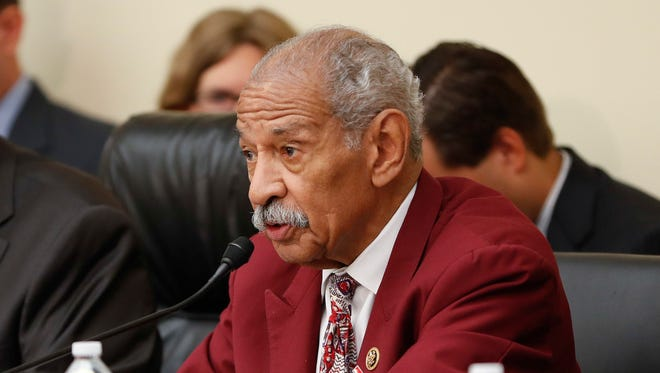 U.S. Rep. John Conyers, D-Mich., is the longest-serving active member of Congress.