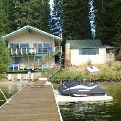 Payette Lake cottage site auction.