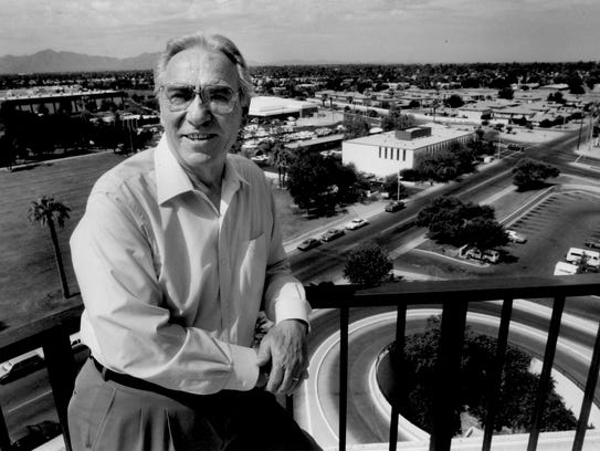 Longtime Phoenix home builder John F. Long.
