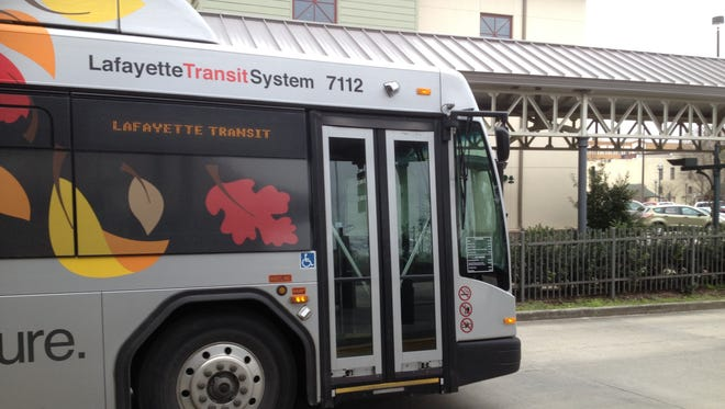 Lafayette buses won't run on Christmas day.