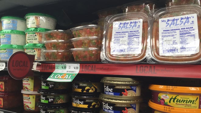 My Brother Bobby's Salsa sits on a shelf at ShopRite in LaGrangeville in this file photo.
