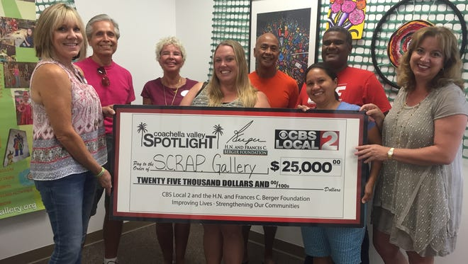 The Coachella Valley Spotlight grant was issued from a partnership between the H.N. and Frances C. Berger Foundation and CBS Local 2 in an effort to highlight the work of local non-profit organizations providing meaningful services to the community.