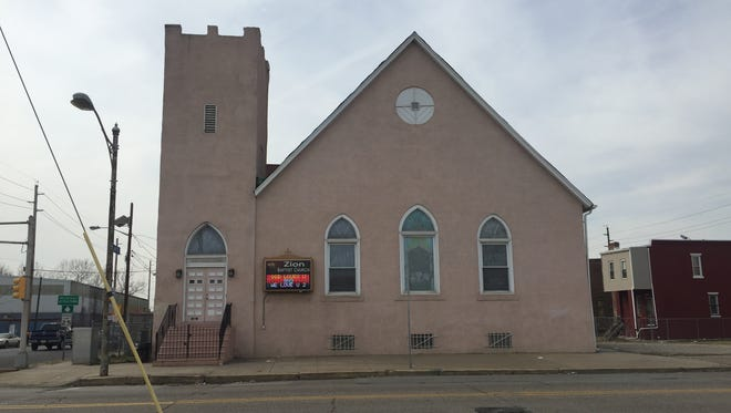 Zion Baptist Church on Broadway in Camden may have hosted a special guest preacher in 1951 and 1952: Martin Luther King, Jr.