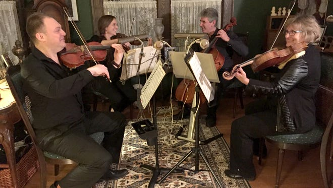 """Classical music fans will enjoy the Watchung Arts Center's Sunday afternoon performance by the Romanza Music String Quartet on March 18, featuring music by Mozart, Beethoven and Dvorak. The concert, """"Masterful Mozart, Beethoven and Dvorak,""""begins at 3 p.m.and is followed by a dessert reception."""