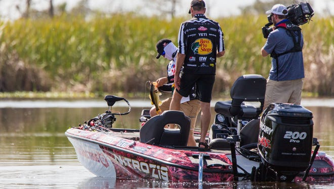 Video crews were in Indian River County Feb. 26 - March 3 filming Major League Fishing's 2018 General Tire World Championship.