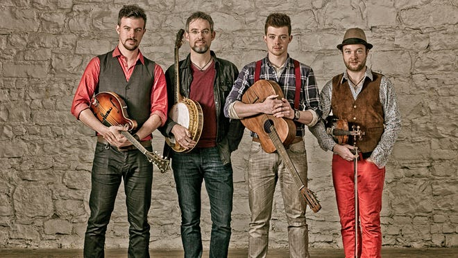 All the way from Galway, Ireland, it's We Banjo 3 for a St. Patrick's Day party on March 17 at Backstage at the Meyer.