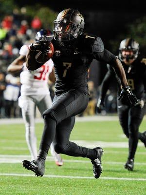 Ralph Webb has rushed for 4,178 yards at Vanderbilt.
