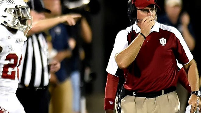 Indiana defensive coordinator Tom Allen was promoted to head coach of the Hoosiers program on Dec. 1, 2016 after head coach Kevin Wilson resigned amidst reportedly player abuse issues.