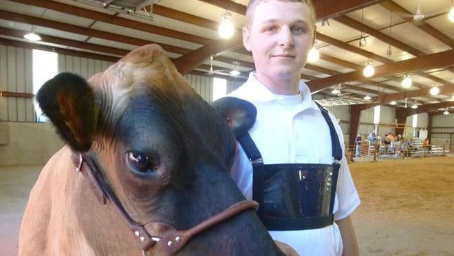 Kyle Hudson, of Bucyrus, has been selected as the Crawford County winner of the 2016 4-H Bright Futures Award.