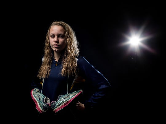 Port Huron Northern junior Ashley DeFrain is the Times