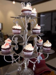 Mini cupcakes are the specialty of Indulgence Cupcakery