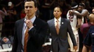 Princeton head coach Mitch Henderson (AP)