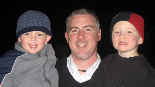 Caden and Dylan grew up watching their father, Jimm Kramer, coach the Mount Olive football team.