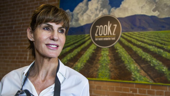 Carole Meyer runs Zookz, a toasted sandwich shop inspired by her grandmother, who made these sandwiches when Meyer was a little girl. The shop now has two locations in Phoenix.