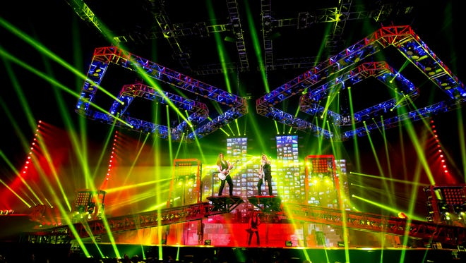 Trans-Siberian Orchestra performs in Austin last December.