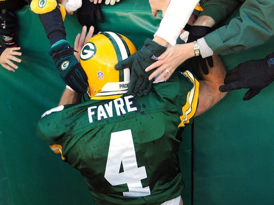 Brett Favre back
