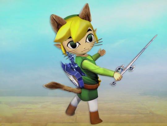 Link Wind Waker set in Monster Hunter Generations.