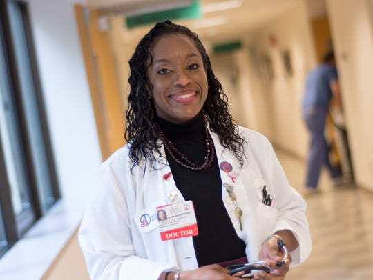 Dr. Renee Bullock-Palmer, director of the Women's Heart