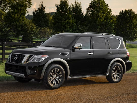 The 2018 Nissan Armada, a vehicle that has a significant